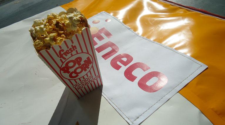 Eneco Popcorn Uitdeelactie