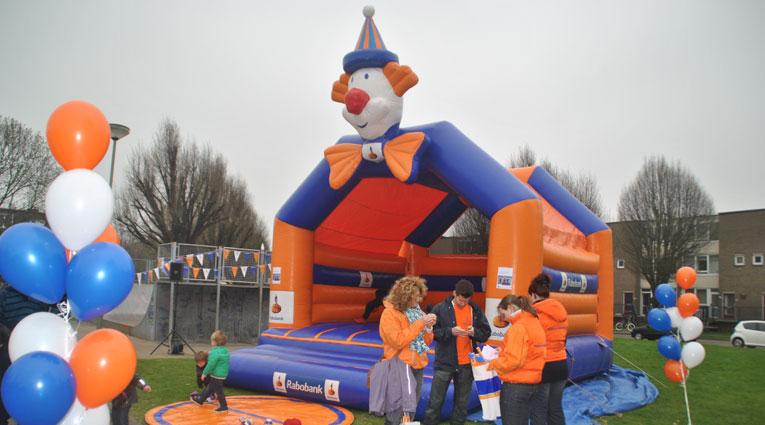 Rabobank Clown Springkussen