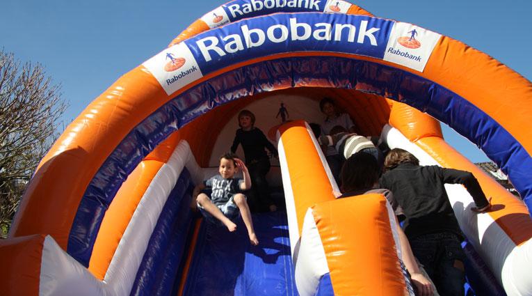 Rabobank Glijbaan Springkussen