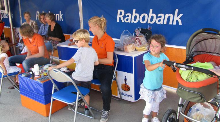 Rabobank Schminken