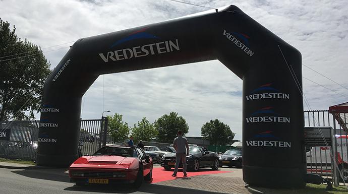 Vredestein boog | verhuur Vredestein items | Mackpro.nl C
