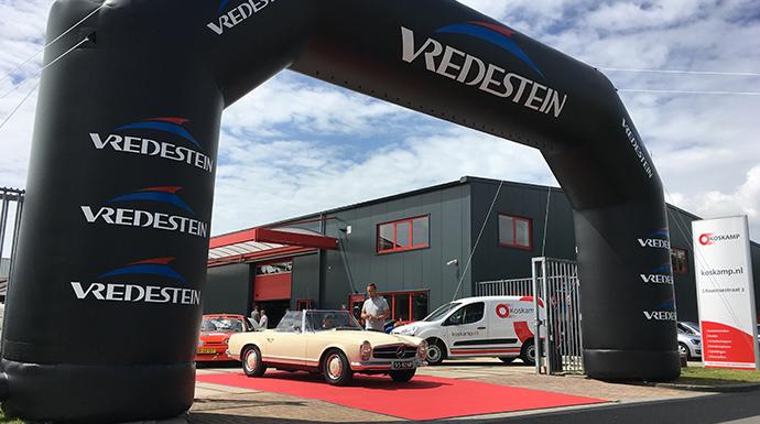 Vredestein boog | verhuur Vredestein items | Mackpro.nl E