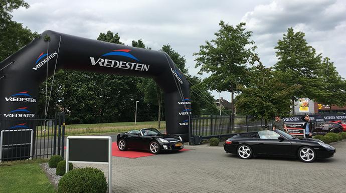 Vredestein boog | verhuur Vredestein items | Mackpro.nl F