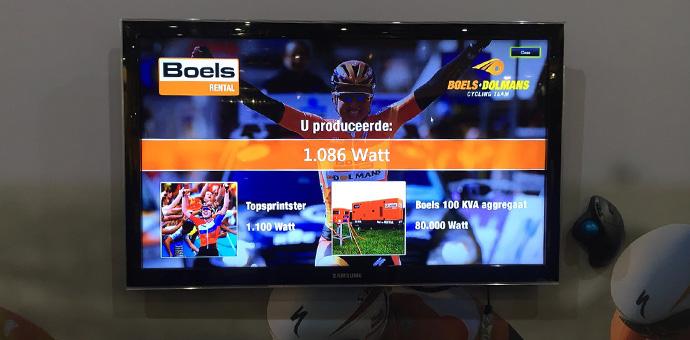 Fietsimulator Boels | Verhuur | Mackpro.nl F