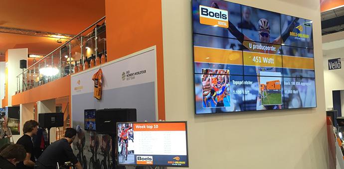 Fietsimulator Boels | Verhuur | Mackpro.nl G