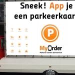 MyOrder 'Parkeren' Promo Mobile Marketing Car