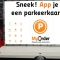 MyOrder 'Parkeren' Promo Mobile Marketing Car