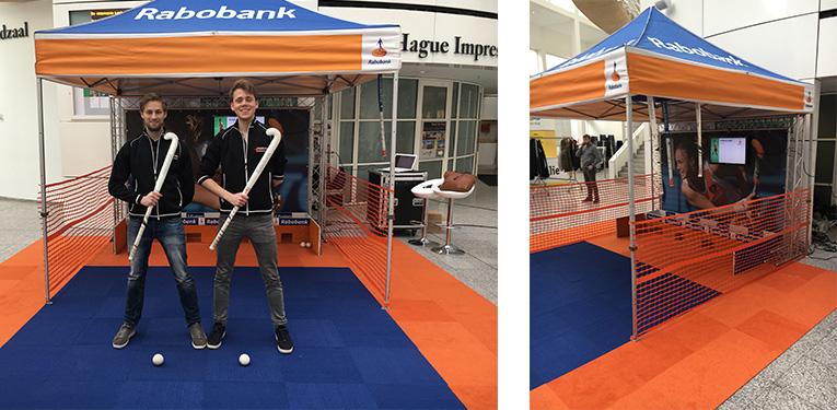 Rabobank Hockeyspel op de beursvloer B