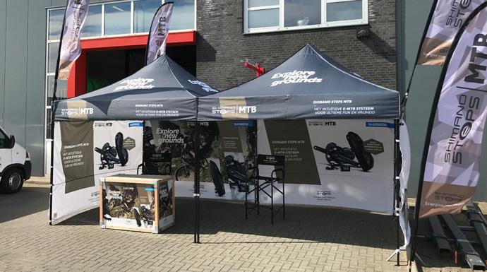 Shimano EXPO outdoor stand | Shimano STEPS E-Bike R