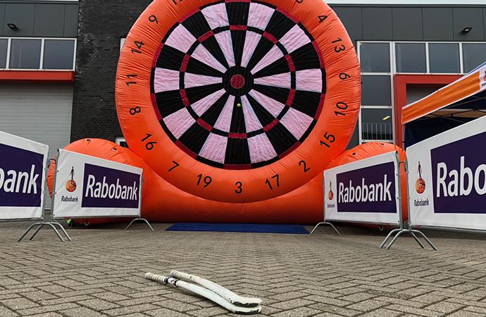Rabobank Voetbal of Hockey Dartbord B