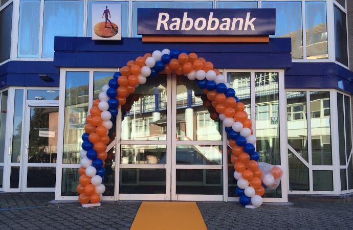 Rabobank Ballonnen Boog En Ballonnen Pilaar