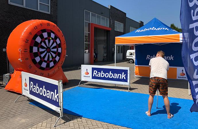 Rabobank Hockeyspel dartbord B