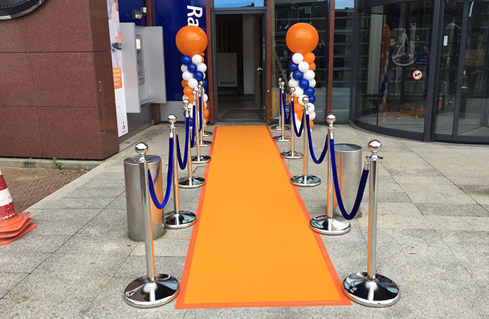 Rabobank Oranje Loper en Afzetpaaltjes B