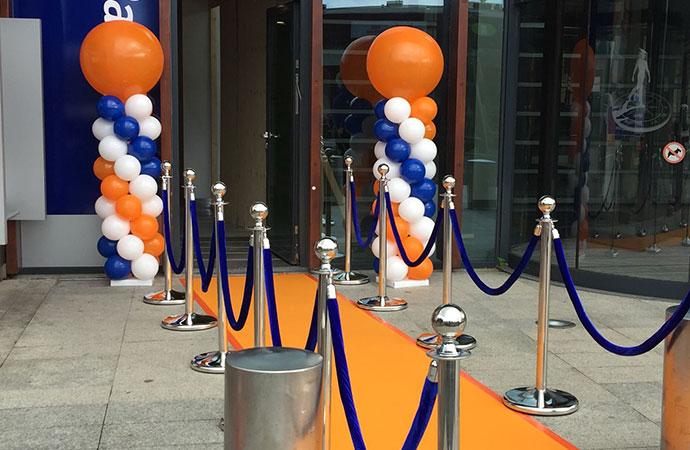 Rabobank Oranje Loper en Afzetpaaltjes C
