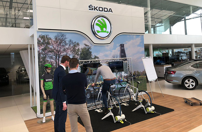 Skoda Tacx Fiets Simulator (2 fietsen) C