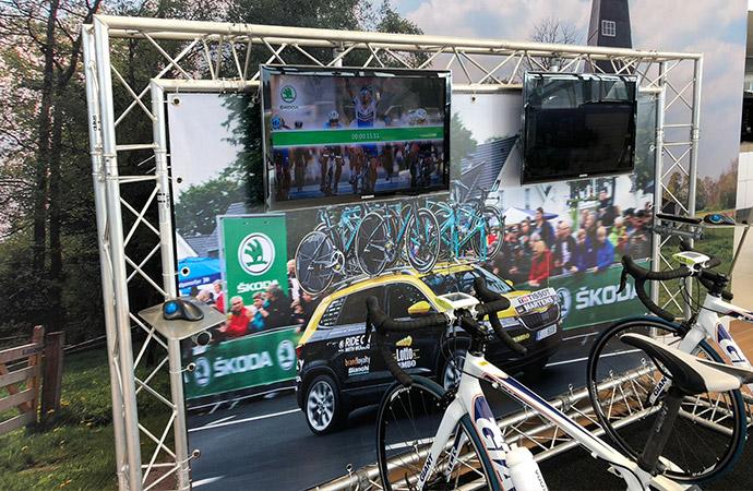 Skoda Tacx Fiets Simulator (2 fietsen) D