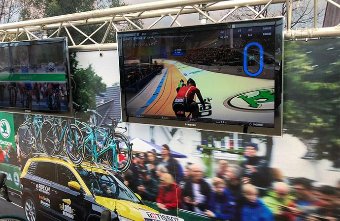 Skoda Tacx Fiets Simulator (2 fietsen) E